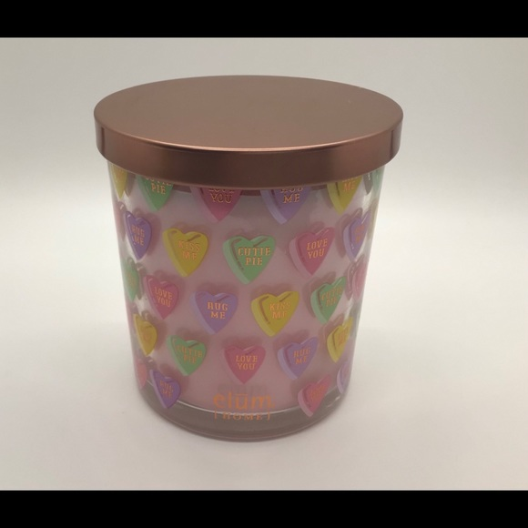 Elum Home Candy Hearts Scented Candle - NEW!